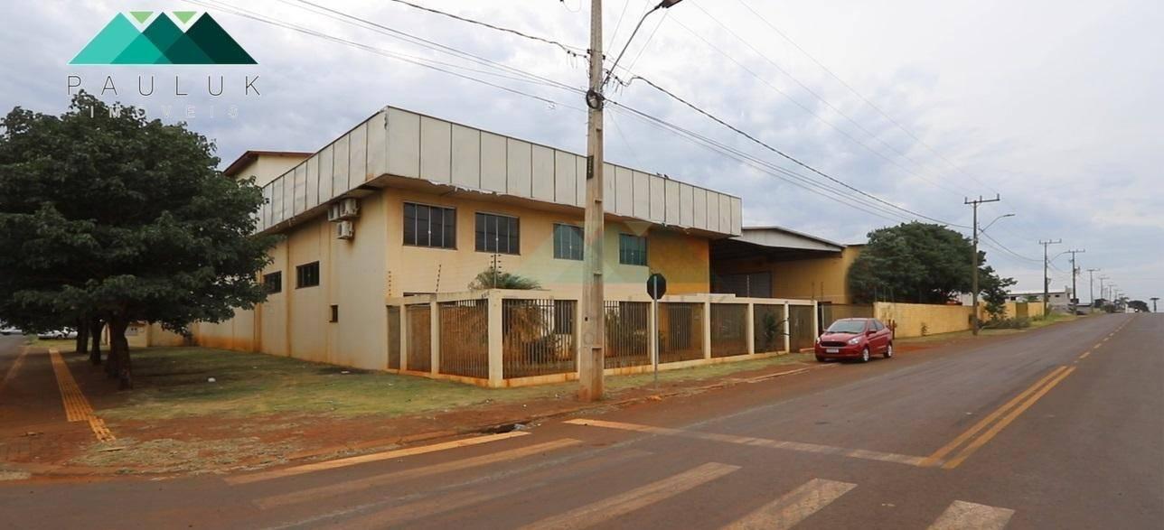 Barracão à Venda, 2200 M² - Centro - Santa Terezinha de Itaipu/pr | PAULUK IMÓVEIS | Portal OBusca