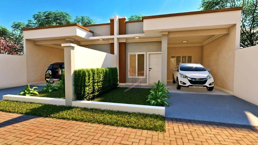 Casa com 2 Dormitórios à Venda, 97 M² Por R$ 368.000 - Jardim Ipê IV | LINDINALVA ASSESSORIA | Portal OBusca