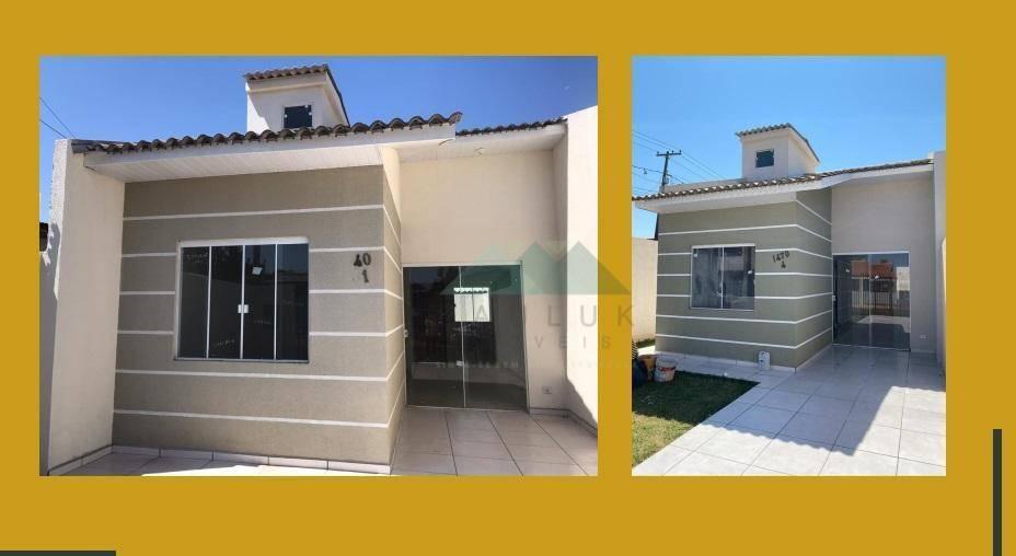 Casa com 2 Dormitórios à Venda, 41 M² Por R$ 165.000,00 - Vila São Sebastião - Foz do Iguaçu/pr | PAULUK IMÓVEIS | Portal OBusca