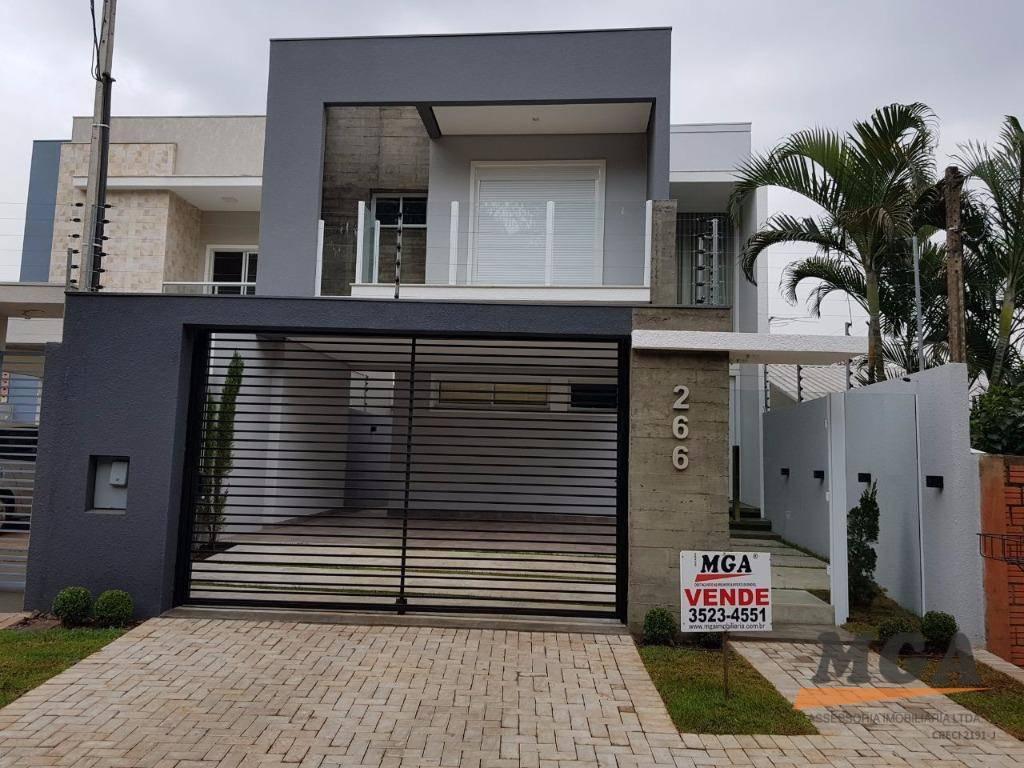 Sobrado com 3 Dormitórios à Venda, 200 M² Por R$ 720.000,00 - Jardim Bourbon - Foz do Iguaçu/pr   MGA ASSESSORIA IMOBILIÁRIA   Portal OBusca