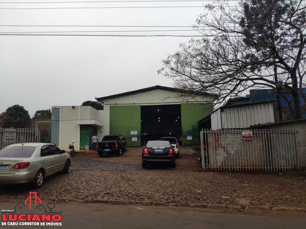 Barracão à venda - Centro de São Miguel do Iguaçu   LUCIANO CORRETOR DE IMÓVEIS   Portal OBusca