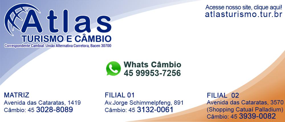 Atlas - Câmbio e Turismo