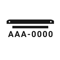 icone placa